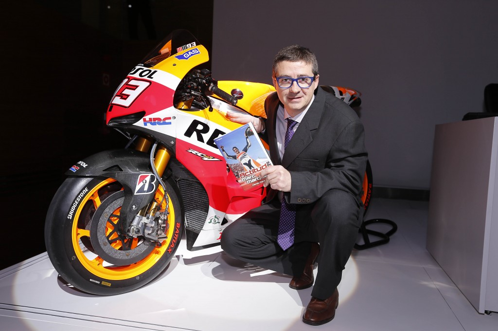 Damià Aguilar i moto