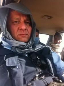 Josep Morell durant el rodatge a l'Afganistan.